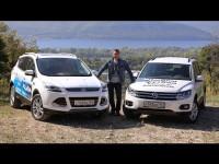 Сравнительный тест-драйв Volkswagen Tiguan против Ford Kuga от Игоря Бурцева