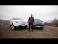 Сравнительный тест-драйв KIA Mohave и Ford Explorer от Игоря Бурцева