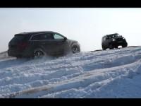Сравнительный тест-драйв Уаз Патриот и Audi Q7