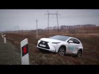 Тест-драйв гибридного Lexus NX от Александра Михельсона