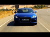 Тест-драйв нового спорткара Audi TT