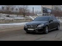 Тест-драйв седана Mercedes-Benz E-Класс от Anton Avtoman