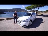Видео тест драйв Nissan Sentra от Игоря Бурцева