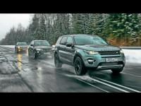 Сравнительный тест-драйв Land Rover Discovery Sport, Cadillac SRX и BMW X3
