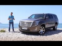 Тест-драйв Cadillac Escalade 2015 от Игоря Бурцева
