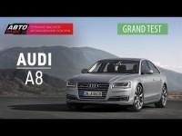 Тест-драйв нового Audi А8 2015 от канала АВТО ПЛЮС