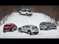 Сравнительный тест-драйв Lexus NX, Volvo XC60, Evoque, Discovery Sport