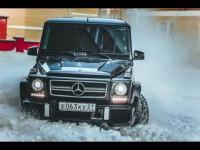 Тест-драйв Mercedes-Benz G 55 AMG (500 л.с.) от Anton Avtoman