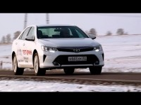 Тест-драйв Тойота Камри 2014 с Александром Михельсоном