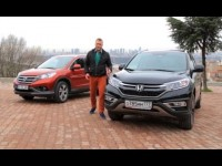 Видео тест-драйв Honda CR-V 2015