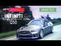 Видео тест-драйв Infiniti Q50 от канала АвтоПлюс