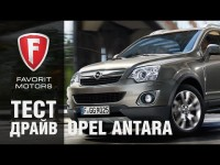 Видео тест драйв Opel Antara 2015