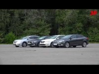 Сравнительный тест драйв Ford Focus, Mazda 3, Nissan Sentra и Skoda Octavia