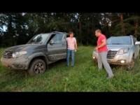 Сравнительный тест-драйв УАЗ Патриот и Great Wall Hover H3 turbo