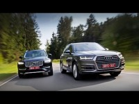Сравнительный тест драйв Volvo XC90 и Audi Q7 от Михаила Петровского