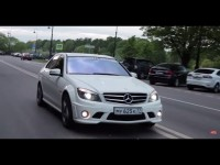 Тест-Драйв Mercedes-Benz C63 AMG от Anton Avtoman
