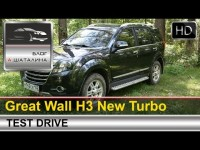 Тест-драйв Great Wall H3 New Turbo с Александром Шаталиным