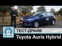 Тест драйв Toyota Auris Hybrid (Тойота Аурис Гибрид)