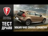 Тест драйв Вольво V40 (Volvo V40) 2015 года