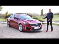 Видео тест-драйв Cadillac CTS-V (640 hp) и ATS-V (470 hp) 2016 от Игоря Бурцева