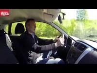 Видео тест драйв Datsun mi-DO от Авторевю