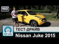 Видео тест-драйв Nissan Juke (Ниссан Джук) 2015 от InfoCar.ua