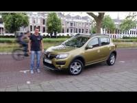 Видео тест драйв Renault Logan/Sandero с роботом с Игорем Бурцевом