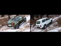 Сравнительный тест-драйв Lada 4x4 Urban и Renault Duster от канала Dromru