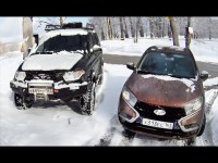Тест-драйв Lada XRAY по следам UAZ Patriot от Игоря Бурцева
