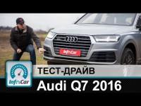 Видео тест-драйв Audi Q7 от канала InfoCar