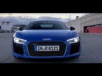 Видео тест-драйв Audi R8 от канала Авто Вести