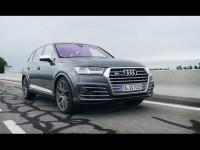 Видео тест-драйв Audi SQ7 от канала Авто Вести