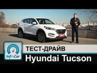 Видео тест-драйв Hyundai Tucson от канала InfoCar