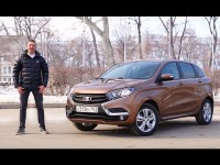 Видео тест-драйв LADA Xray от Игоря Бурцева