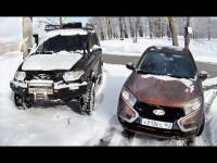 Видео тест-драйв Lada Vesta от канала AvtoVesti
