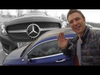 Видео тест-драйв Mercedes C300 от Игоря Бурцева