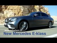 Видео тест-драйв Mercedes E-класса от Александра Михельсона
