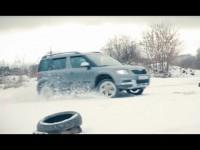 Видео тест-драйв Skoda Yeti от Антона Автомана