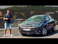 Видео тест-драйв Toyota Corolla 2016 от Игоря Бурцева