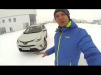 Видео тест-драйв Toyota RAV4 от Игоря Бурцева