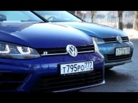 Видео тест-драйв Volkswagen Golf R от Авто Плюс
