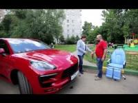Видео тест-драйв нового Porsche Macan GTS от канала Авто Плюс