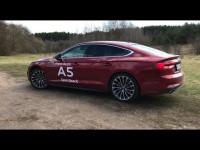 Audi A5 SportBack 2017 года в видео-обзоре от Stenni