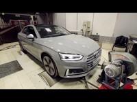 Видео тест-драйв Audi A5 Sport от Anton Avtoman