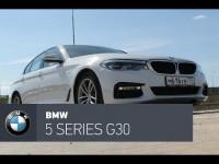 BMW 5 series G30 c M-пакетом в тест-драйве от CarsGuru