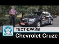 Тест-драйв рестайлингового Chevrolet Cruze от канала InfoCar