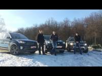 Сравнительный тест-драйв Hyundai Creta, Toyota RAV4 и Renault Duster от Автопанорамы