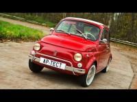 Видео-обзор ретромобиля Fiat 500 от автопортала AutoReview