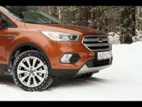 Зимний тест-драйв Ford Kuga 2017 от 66 Авто