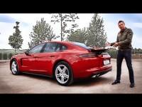 Видео обзор Porsche Panamera от обозревателя Игоря Бурцева